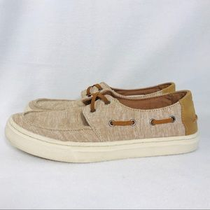 TOMS Boys Canvas Top-Sider